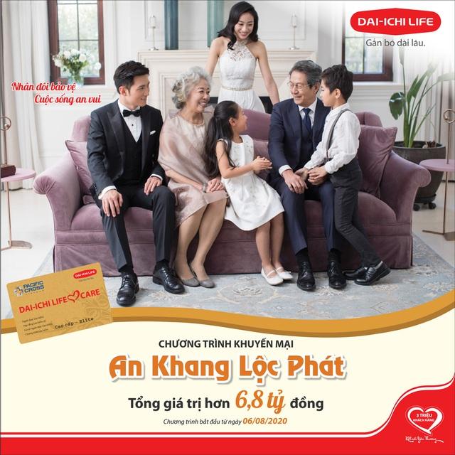 Dai-ichi Life Việt Nam tiếp tục triển khai chương trình khuyến mại An Khang Lộc Phát với tổng giá trị hơn 6,8 tỷ đồng - Ảnh 1.