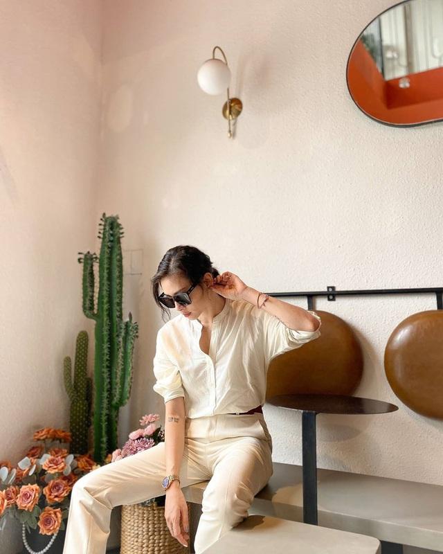 Học cách phối style công sở đơn giản mà chất lừ của Ngô Thanh Vân - Ảnh 1.