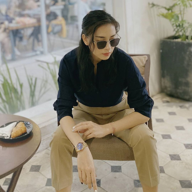 Học cách phối style công sở đơn giản mà chất lừ của Ngô Thanh Vân - Ảnh 2.