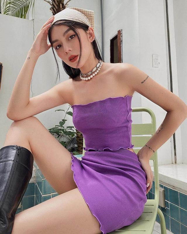Loạt sao và hot girl cùng lăng xê mốt quấn khăn, ai cũng trendy cá tính nhưng xui cho Ngọc Trinh sến súa nhất hội - Ảnh 6.