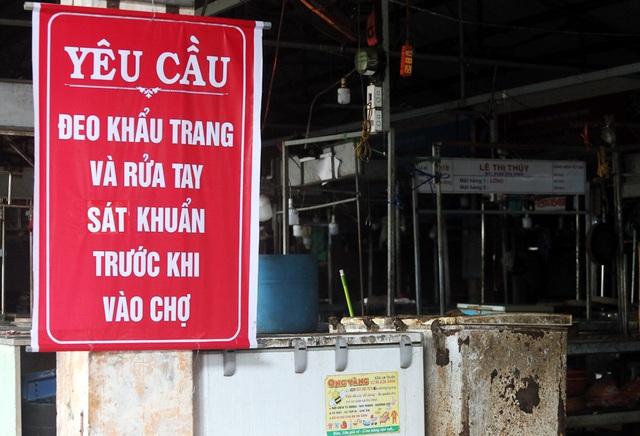 Có đến 3 trường hợp mắc COVID-19 đặt chân đến, Đà Nẵng đóng cửa một chợ dân sinh - Ảnh 8.