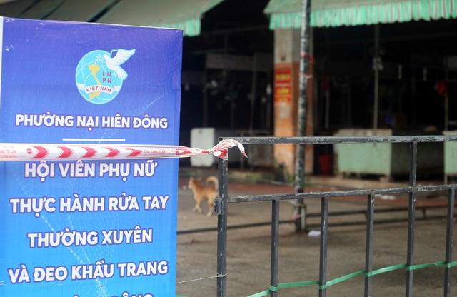 Có đến 3 trường hợp mắc COVID-19 đặt chân đến, Đà Nẵng đóng cửa một chợ dân sinh - Ảnh 14.