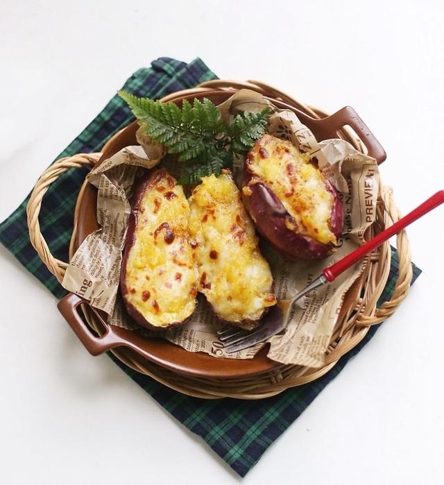 Khoai lang nướng là món xưa như Trái Đất mà đem biến tấu một chút theo kiểu Hàn thì ngon hơn vạn lần! - Ảnh 5.