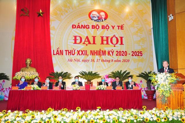 Đại hội đại biểu Đảng bộ Bộ Y tế lần thứ XXII, nhiệm kỳ 2020 - 2025: Đoàn kết - Đổi mới - Nêu gương - Trách nhiệm - Ảnh 5.