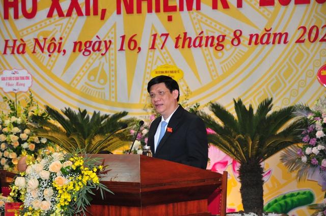 Đại hội đại biểu Đảng bộ Bộ Y tế lần thứ XXII, nhiệm kỳ 2020 - 2025: Đoàn kết - Đổi mới - Nêu gương - Trách nhiệm - Ảnh 4.