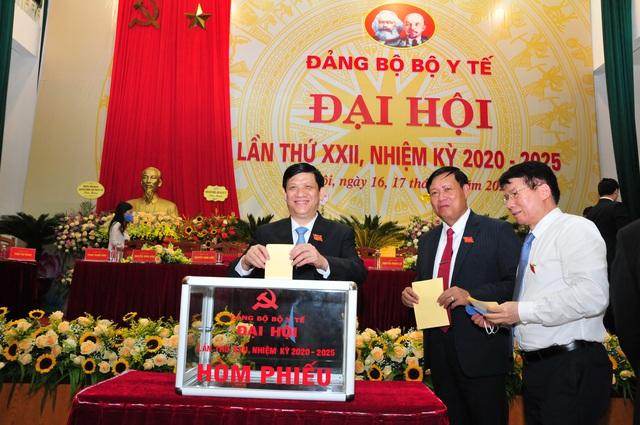 Đại hội đại biểu Đảng bộ Bộ Y tế lần thứ XXII, nhiệm kỳ 2020 - 2025: Đoàn kết - Đổi mới - Nêu gương - Trách nhiệm - Ảnh 9.