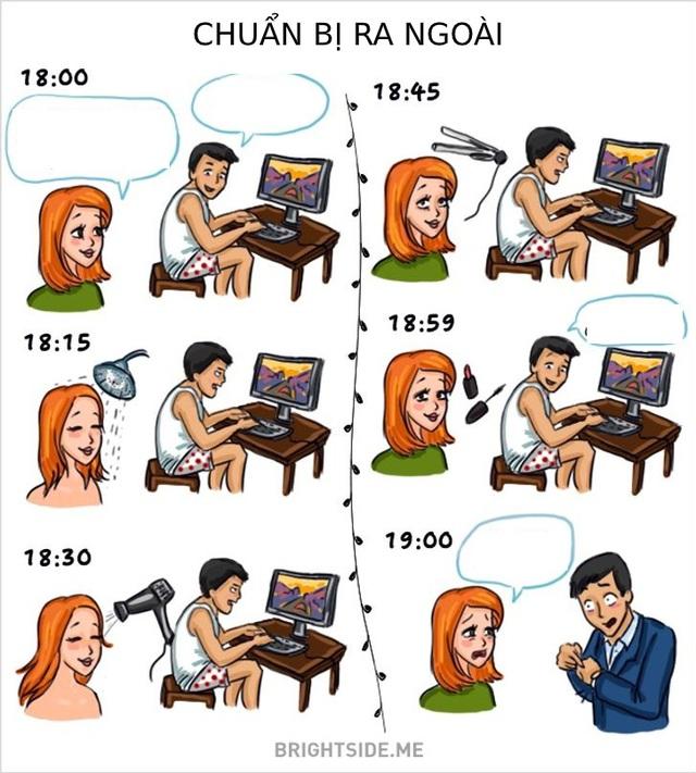 Khác biệt thú vị giữa đàn ông và phụ nữ - Ảnh 11.