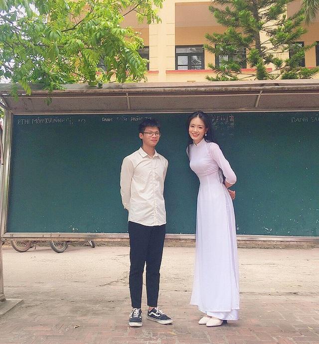 Nữ sinh cao 1,74 m, ước mơ thi hoa hậu - Ảnh 3.