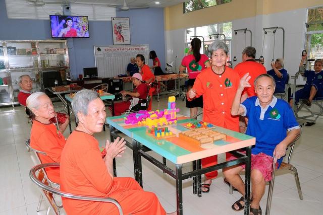 Khám phá cuộc sống của các cụ già ở Viện dưỡng lão hàng đầu Việt Nam - Ảnh 3.