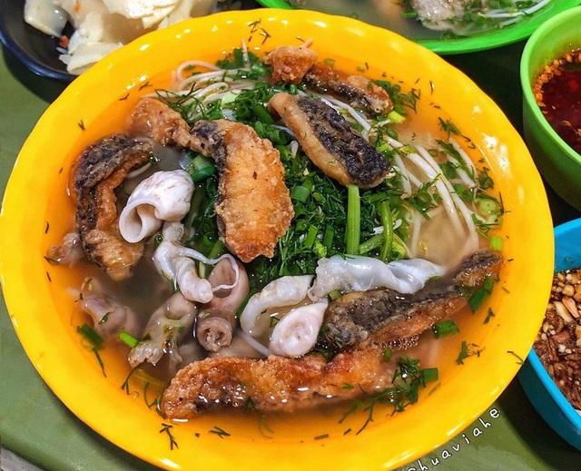 Các kiểu bún cá khác lạ ở Hà Nội - Ảnh 5.