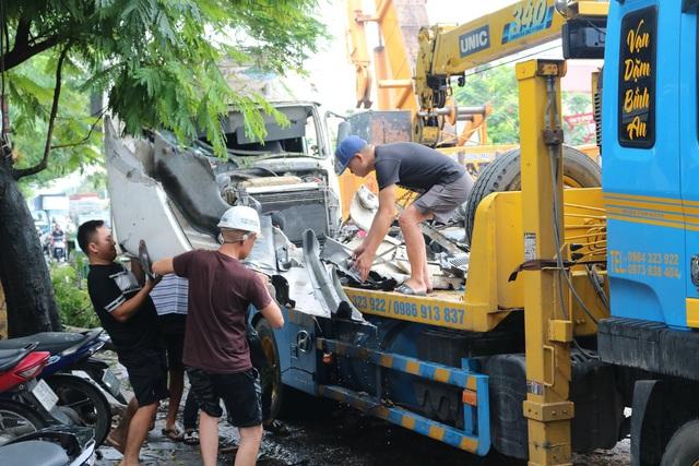 Hải Phòng: Nhiều nhà dân suýt chết vì tài xế container ngủ gật - Ảnh 6.