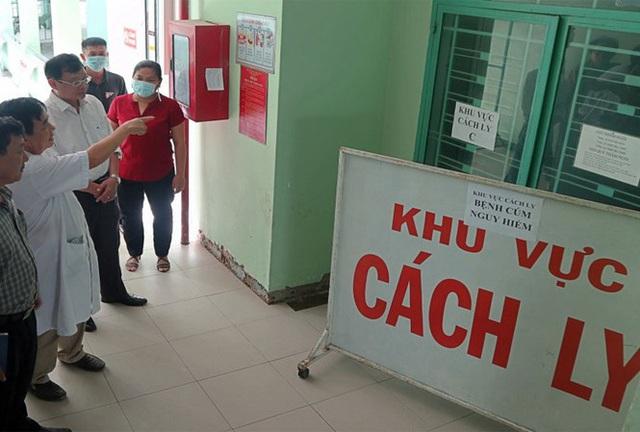 Khu vực cách ly tại tỉnh Bắc Giang. Ảnh: Nguyễn Thắng