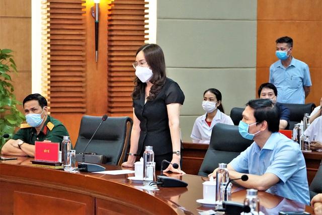 Đoàn cán bộ y tế Hải Phòng vào chi viện thành phố kết nghĩa Đà Nẵng - Ảnh 3.