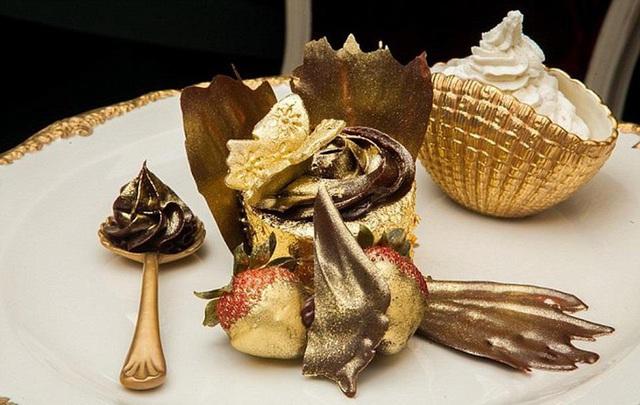 Những món ăn dát vàng chỉ dành cho giới siêu giàu - Ảnh 5.