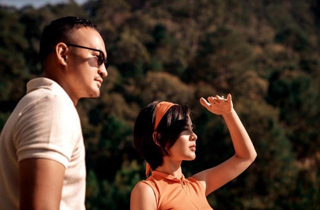 Khoảnh khắc lãng mạn MC Thu Hoài bên chồng sắp cưới - Ảnh 5.