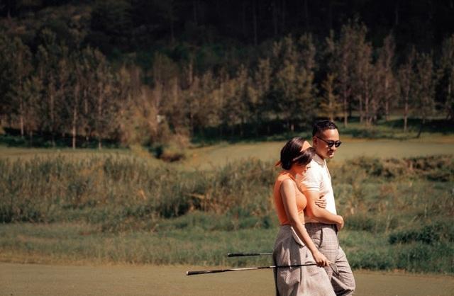 Khoảnh khắc lãng mạn MC Thu Hoài bên chồng sắp cưới - Ảnh 7.