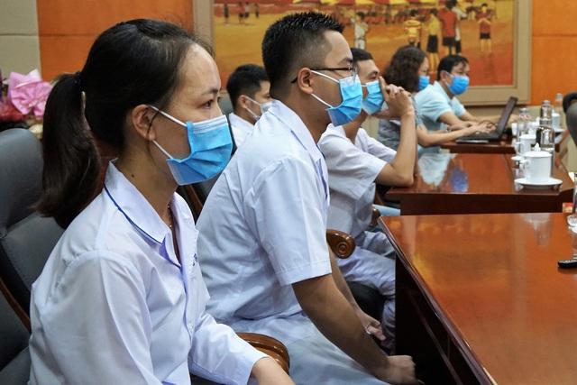 Đoàn cán bộ y tế Hải Phòng vào chi viện thành phố kết nghĩa Đà Nẵng - Ảnh 6.