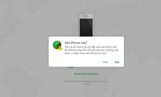 Hướng dẫn cách khắc phục iPhone bị vô hiệu hóa khi nhập sai mật khẩu - Ảnh 4.