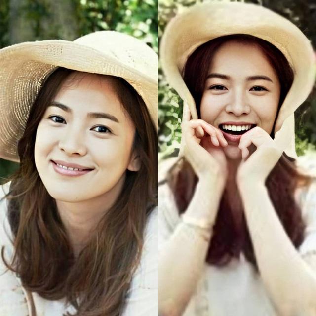 Nhan sắc của Song Hye Kyo xuất chúng đến nỗi cân đẹp mọi kiểu mũ dù sến hay lỗi thời tới đâu - Ảnh 2.