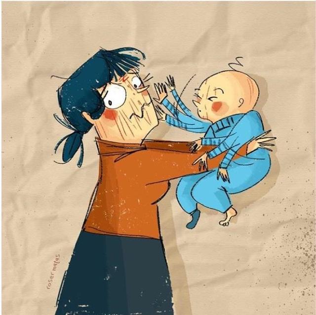 Khoảnh khắc người phụ nữ nào cũng trải qua khi nuôi con - Ảnh 11.
