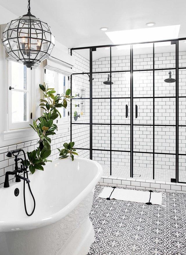 Ba thiết kế phòng tắm với 3 phong cách khác nhau nhưng đều đem lại sự mãn nhãn cho người nhìn - Ảnh 1.