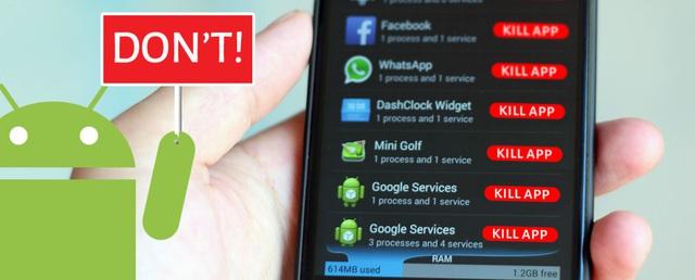Vì sao ứng dụng giải phóng ram trên Android không chỉ vô dụng mà còn có hại? - Ảnh 1.