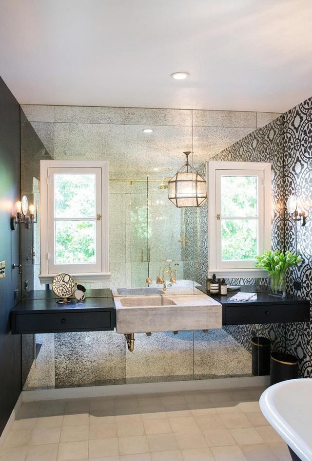 Ba thiết kế phòng tắm với 3 phong cách khác nhau nhưng đều đem lại sự mãn nhãn cho người nhìn - Ảnh 12.