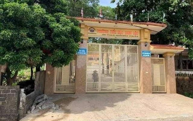 Nghệ An: Sập tường cạnh cổng trường, một học sinh lớp 5 tử vong - Ảnh 1.