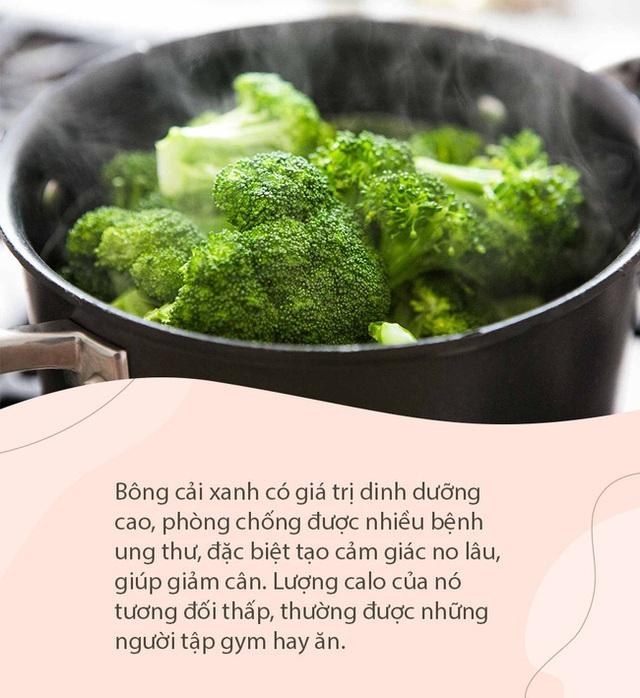 10 loại rau củ tạo cảm giác no lâu, lại ít calo, phụ nữ ăn thả phanh cũng không sợ mập lại khỏe ra - Ảnh 1.