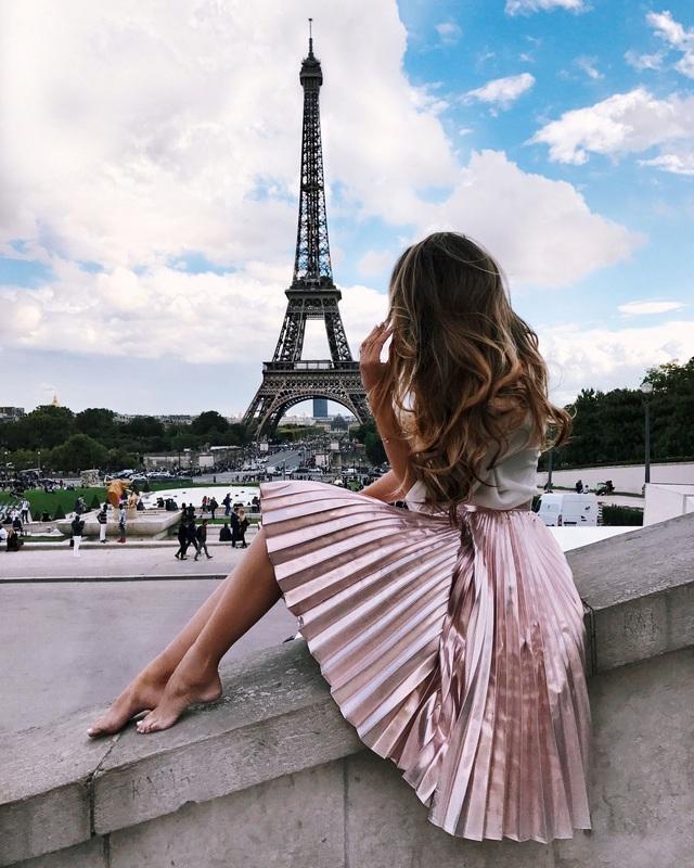 5 phong cách tinh tế, cực hút mắt các cô gái Pháp luôn diện khi Thu về - Ảnh 1.