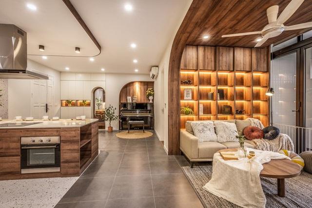 Chiêm ngưỡng căn chung cư đẹp mê hồn của vợ chồng trẻ ở Hà Nội - Ảnh 11.