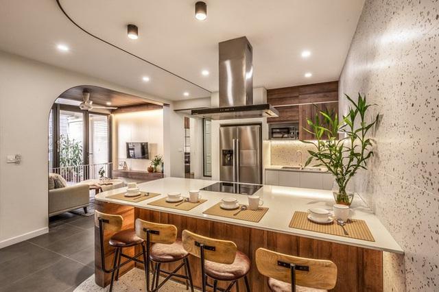 Chiêm ngưỡng căn chung cư đẹp mê hồn của vợ chồng trẻ ở Hà Nội - Ảnh 4.