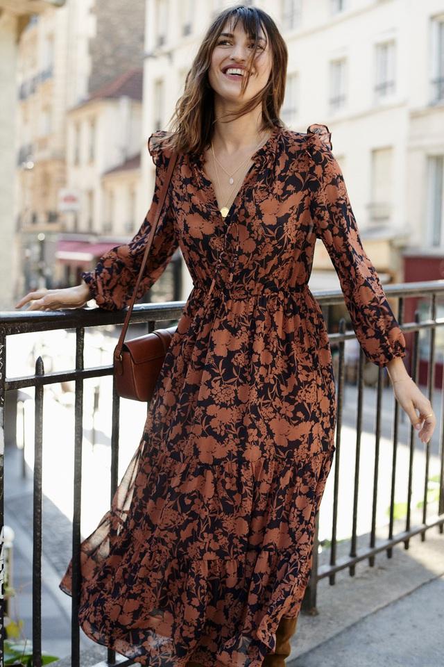 5 phong cách tinh tế, cực hút mắt các cô gái Pháp luôn diện khi Thu về - Ảnh 8.