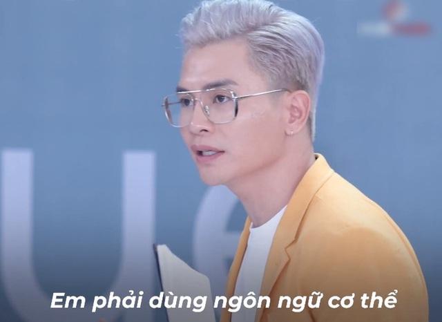 Vietnams Next Top Model: Võ Hoàng Yến quát lớn nam thí sinh cạo đầu đi thi người mẫu vì nói gì cũng đều không hiểu - Ảnh 3.
