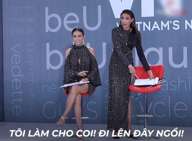 Vietnams Next Top Model: Võ Hoàng Yến quát lớn nam thí sinh cạo đầu đi thi người mẫu vì nói gì cũng đều không hiểu - Ảnh 4.
