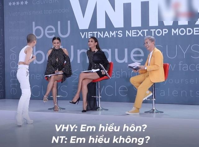 Vietnams Next Top Model: Võ Hoàng Yến quát lớn nam thí sinh cạo đầu đi thi người mẫu vì nói gì cũng đều không hiểu - Ảnh 8.