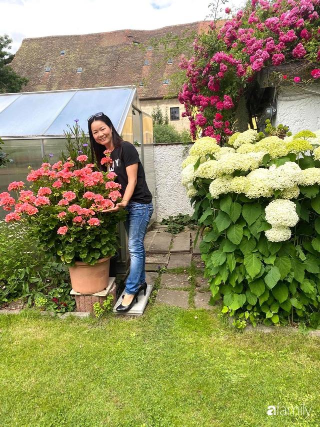 Khu vườn 200m² quanh năm xanh tươi với đủ loại rau quả sạch của mẹ Việt có thâm niên 7 năm làm vườn - Ảnh 1.