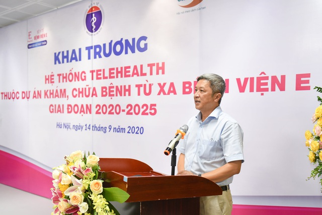 Đề nghị đặc biệt của Giám đốc Bệnh viện E tại buổi khai trương khám chữa bệnh từ xa - Ảnh 2.