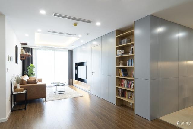 Căn hộ 96m² tối ưu hóa công năng dành cho vợ chồng trẻ lười dọn nhà có chi phí hoàn thiện 400 triệu đồng ở Hà Nội - Ảnh 2.