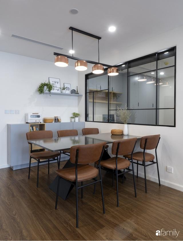Căn hộ 96m² tối ưu hóa công năng dành cho vợ chồng trẻ lười dọn nhà có chi phí hoàn thiện 400 triệu đồng ở Hà Nội - Ảnh 11.