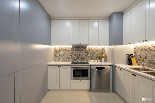 Căn hộ 96m² tối ưu hóa công năng dành cho vợ chồng trẻ lười dọn nhà có chi phí hoàn thiện 400 triệu đồng ở Hà Nội - Ảnh 12.