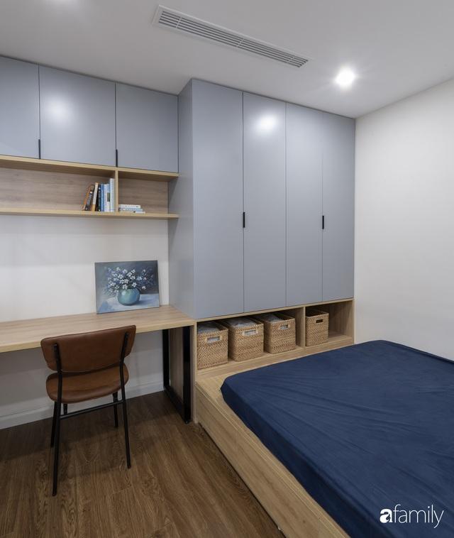 Căn hộ 96m² tối ưu hóa công năng dành cho vợ chồng trẻ lười dọn nhà có chi phí hoàn thiện 400 triệu đồng ở Hà Nội - Ảnh 19.