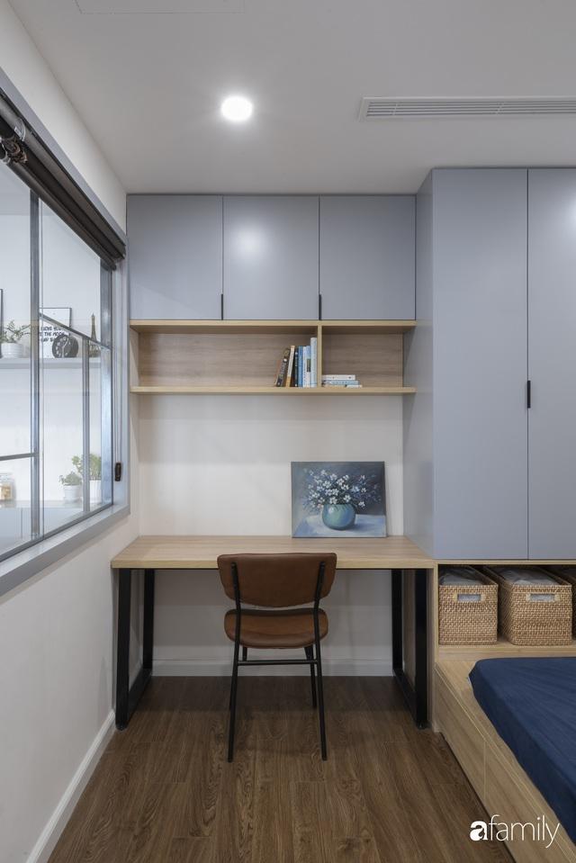 Căn hộ 96m² tối ưu hóa công năng dành cho vợ chồng trẻ lười dọn nhà có chi phí hoàn thiện 400 triệu đồng ở Hà Nội - Ảnh 20.