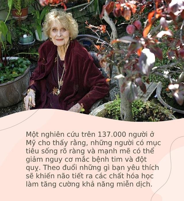 Bí quyết để thọ 100 tuổi cực độc, dị của những người phụ nữ sống lâu bậc nhất thế giới: Đặc biệt người số 2 sẽ khiến bạn muốn làm theo ngay - Ảnh 3.