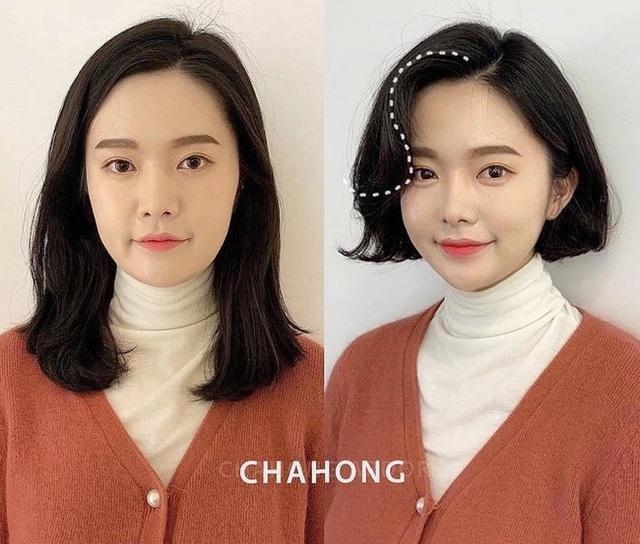 Mạnh dạn thay đổi 1 điểm trên mái tóc, 10 cô nàng này phải thầm cảm ơn anh thợ làm tóc vì cú lên đời nhan sắc - Ảnh 3.