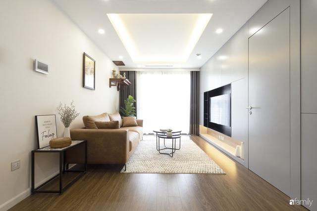 Căn hộ 96m² tối ưu hóa công năng dành cho vợ chồng trẻ lười dọn nhà có chi phí hoàn thiện 400 triệu đồng ở Hà Nội - Ảnh 5.