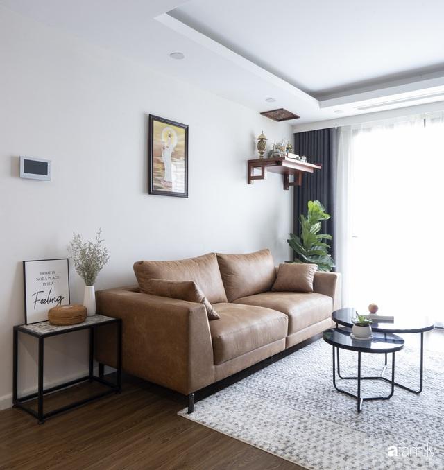 Căn hộ 96m² tối ưu hóa công năng dành cho vợ chồng trẻ lười dọn nhà có chi phí hoàn thiện 400 triệu đồng ở Hà Nội - Ảnh 7.