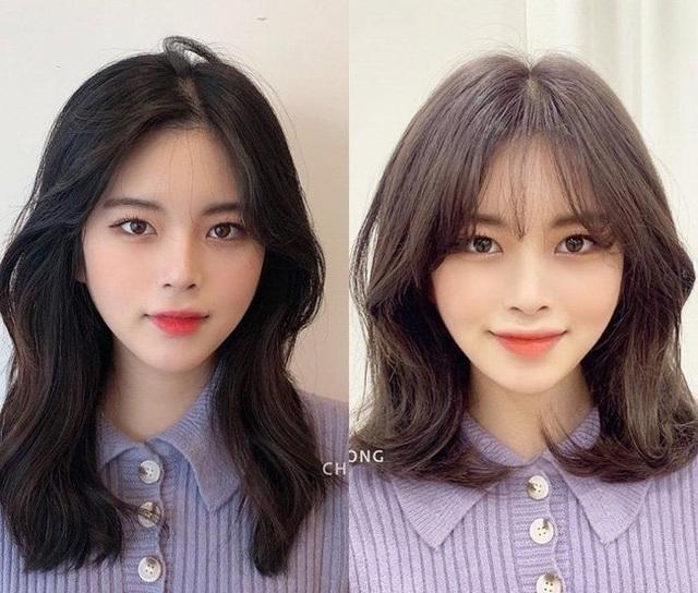 Mạnh dạn thay đổi 1 điểm trên mái tóc, 10 cô nàng này phải thầm cảm ơn anh thợ làm tóc vì cú lên đời nhan sắc - Ảnh 7.