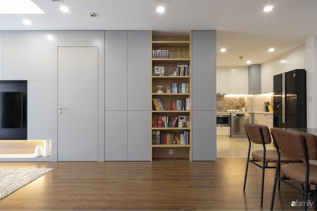 Căn hộ 96m² tối ưu hóa công năng dành cho vợ chồng trẻ lười dọn nhà có chi phí hoàn thiện 400 triệu đồng ở Hà Nội - Ảnh 10.