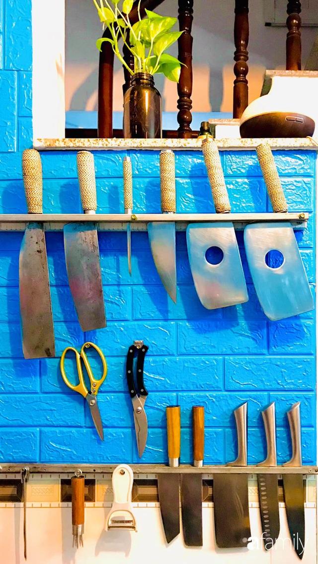 Căn bếp vỏn vẹn chỉ 5m² được ông bố Sài Gòn cải tạo tiện dụng cho việc nấu nướng hàng ngày có chi phí hơn 2 triệu đồng - Ảnh 15.
